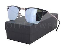 NEW Ray Ban RB 8056 176 30 49mm Black / Green Mirror Sunglasses