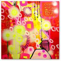 Abstrakte Formen Moderne Kunst Bild Wandbild Unikat Acryl Art. Nr 672