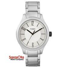 Timex T2P106 WR50M Quartz Aluminum Case/Bracelet Simple Dress Men's Watch