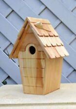 Robinson Garden Bespoke bird box / nest box for small birds inc mouse Varnished