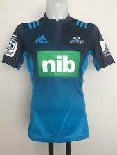 AUCKLAND BLUES SUPER 16 2016 S/S HOME JERSEY BY ADIDAS SIZE MENS LARGE BRAND NEW