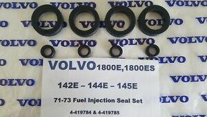 Volvo 1800E & ES - 142 - 144 - 145 - Porsche 914 - VW Type 3&4 Fuel Inj. Seals