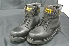 CATERPILLAR ANKLE BOOTS SIZE 8 UK SHOES CAT OIL WATER SLIP RESISTANT WORK BLACK