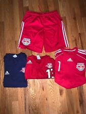 Adidas MLS New York Red Bull Authentic Climalite Soccer Jersey/Shorts Bundle!