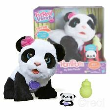 New FurReal Friends PomPom My Baby Panda Pet Walking Talking Electronic Official