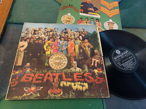 LP  ITALY 1967 RARE  The Beatles ‎– Sgt. Pepper's Lonely Hearts Club Band
