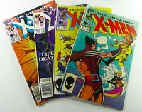 Marvel UNCANNY X-MEN (1981) #195 197 198 199 FN to VF CLAREMONT LOT Ships FREE