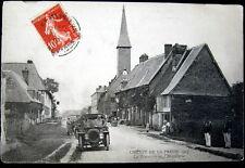 "FRANCE~ 1907 CIRCUIT DE LA PRESSE~ AUTOMOBILE RACING ~ Traversee de l""Hotellerie"