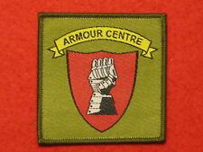 BRITISH ARMY ARMOUR CENTRE BOVINGTON TRF BADGE SEW ON