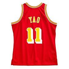 Yao Ming Хьюстон Рокетс 2004-05 алые Mitchell Ness деревянные классические Джерси