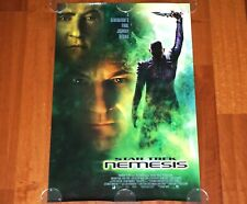 ORIGINAL MOVIE POSTER STAR TREK NEMESIS 2002 UNFOLDED INTL DS ONE SHEET