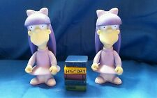 The Simpsons Figure - 2002 Sherri & Terri - World of Springfield WOS Twins Lot