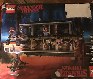 LEGO The Stranger Things: The Upside Down (75810) Brand New Complete Box Damage