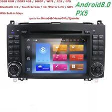 Autoradio Android 8.0 Per Mercedes Classe W245 A B Sprinter Vito Viano Stereo