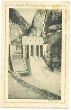 IMPIANTO IDROELETTRICO CELLINA-1° SALTO DIGA DI PRESA-MONTEREALE (PORDENONE)1928