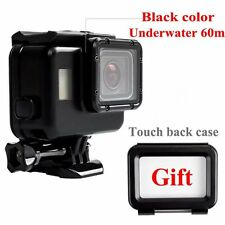 For Gopro Hero5 Accessories 60m Waterproof Hoursing Case + Touch Screen Backdoor