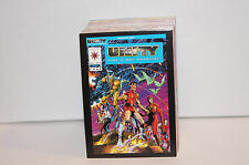 UNITY: TIME IS NOT ABSOLUTE (Comic Images/1992) COMPLETE BASE CARD SET Valiant