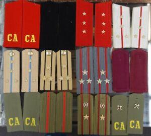 12 Pairs of Soviet / Soviet Bloc Shoulder Boards #2