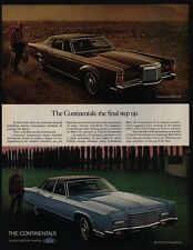 1971 LINCOLN CONTINENTAL & CONTINENTAL MARK III Luxury Cars VINTAGE AD