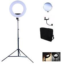 """LED Luce Video ad Anello 17.7""""/45CM 96 W Dimmerabile Bi-Color STAND Trucco Bellezza SELFIE"""