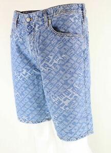 Diesel D-Willoh Wash 084WW Herren Bermudas Cargo kurze Shorts Sommer Hose Jeans