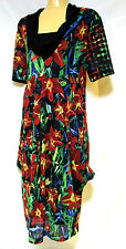 plus sz M /18-20 TS TAKING SHAPE Paradise Dress rich colour funky boho NWT! $150