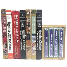Mystery Agatha Christie Books On Audio Cassette Lot Of 7 Different Books