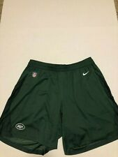 NWT MENS NFL NIKE New York JETS ATHLETIC GREEN SHORTS Knit 2018 Size: 3XL
