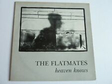 "THE FLATMATES HEAVEN KNOWS 12"" SINGLE IN EXCELLENT CONDITION"