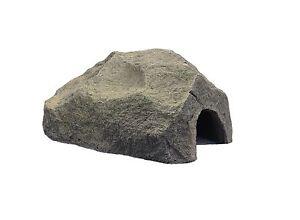 Höhle für Aquarien / Terrarien Größe S 9,5cm aus Graphikstein®
