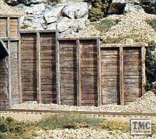 C1160 Woodland Scenics N Gauge Retain Wall Timber 6ea