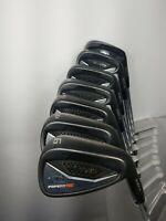 Cobra Forged Tec 5-GW Iron Set Steel STIFF KBS Tour 120g Golf Pride New Decade