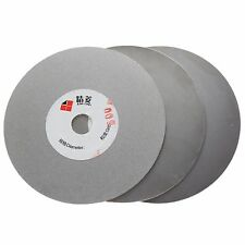 "3Pcs 4"" inch Grit 600 1000 3000 Diamond Flat Lap Disk Grinding Disc Wheel Coated"