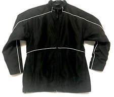 Authentic Warrior Black Storm Hockey Jacket Size XL Adult Mens Warm Up Polyester
