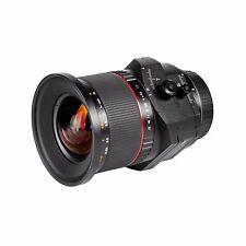 SAMYANG  T-S24mm F3.5  DECENTRABILE Canon EOS - Garanzia 5 Anni -