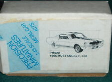 PMI 1965 FORD MUSTANG SHELBY GT350 FASTBACK ASSEMBLY MODEL KIT 1/43 NEW IN BOX