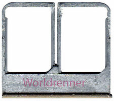 Sim Dual Bandeja G Tarjeta Lector Soporte Card Tray Holder HTC One M8 Dual