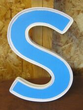 PLASTIC LETTER---S---14 INCHES