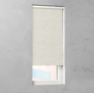 NEW Cocoon by Coulisse Blackout Fabric Cordless Roller Shade - Linen