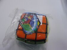 RUBIK'S REVERSIBLE CUBE TOY VAULT PLUSH NEW NWT GM945