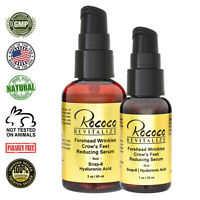 Forehead Wrinkles Crows Feet Reducing Serum with Snap-8 Hyaluronic Acid