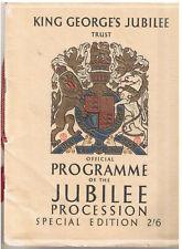 1935 KING GEORGE V Jubilee Official Souvenir Program Special Edition