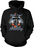 Bulletproof Hot Rod Garage Hotrod Auto Car Racing Speed Hoodie Pullover
