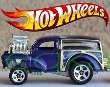 Hot Wheels - MG Rover 2001 Mattel Inc. - Blue - Die-Cast Car