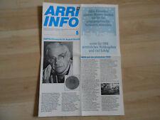 ARRI-INFO Arriflex 16 SR Highspeed 1980