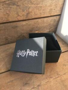 Official Harry Potter Black Bracelet / Watch Gift Box with Velvet Cushion Insert