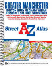 A-Z Greater Manchester Street Atlas (Sprial, Street map)