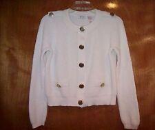 Women's LIZ & CO Ivory Cardigan Sweater - Size M