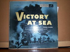 "RCA/Victor LM-1779 NBC Television Production - Victory At Sea 1953 12"" 33 RPM"