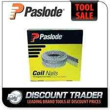Paslode Coil 50mm x 2.5mm Ring Hot Dip Galvanised HDG Nails Diamond Point B25140